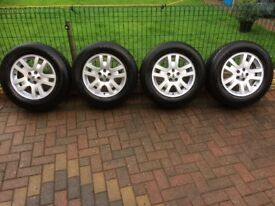 Land Rover Freelander 2 Wheels and Tyres 6-7mm Tread