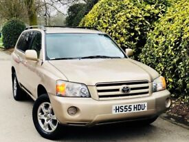 **LEFT HAND DRIVE+7SEATS** TOYOTA HIGHLANDER 3.3 V6 AUTO + FULLY SERVICED + AIRCON + IMMACULATE CAR