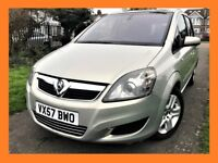 Vauxhall Zafira 1.9 CDTi Elite 5dr LONG MOT, CLEAN CAR IN AND OUT