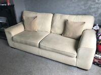 FREE cream sofa!!