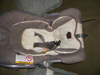 graco car seat beigh