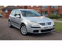 2005 Volkswagen Golf 1.9 TDI SE 5dr **F/S/H+2 OWNERS+CAMBELT DONE**