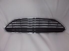 FORD FIESTA MK 9 FRONT BUMPER GRILL INC CHROME SECTION 2014 2015 NEW NEW