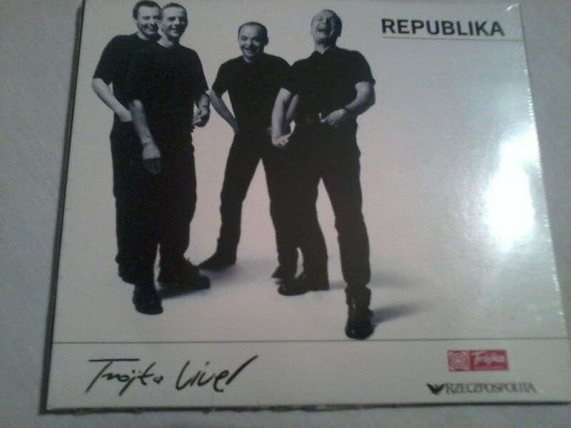 REPUBLIKA  Trójka Live! -cd folia