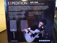 Brand new Samson Expedition XP150 PA System