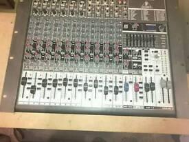 Behringer Xenyx 1832fx mixing desk