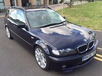 2005/05 BMW 320D M SPORT TOURING 2.0 MANUAL, 141000 MILEAGE, SERVICE HISTORY, LONG MOT