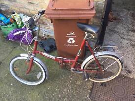 Shopper folding bike £20!