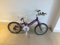 Claud Butler Flame girls bike (8 inch frame)