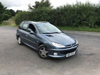 2006 peugeot 206 estate 1.4 , TRADE IN WELCOME