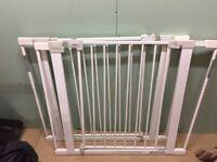 2x Safety 1st metal gates