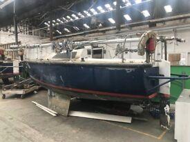 Ex Royal Navy Training Yacht- 7 Metre- STC Model No- 87115