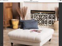 buckingham ottoman footstool - brand new unopened cost £300