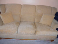 Ducal sofa, very good clean condition, strong sturdy furniture that has been well looked after