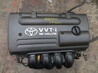 2001-2008 TOYOTA AVENSIS 1.8 VVTi 1ZZ-FE ENGINE 140 BHP 42,000 MILEAGE ONLY GOOD ENGINE