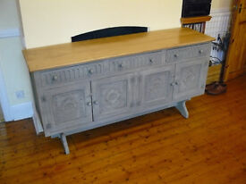 Solid Oak Cabinet - 167cm length