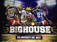 Hold your event at Windsor's Big House Sports Club