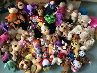 BARGAIN NEW SHOP Clearance 87 x soft Toys Joblot, Bundle (RRP £800