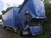 Iveco eurocargo box truck breaking 2004 model tector