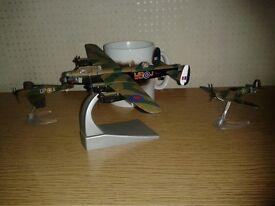 Di-cast metal models of the Battle of Britain Memorial Flight