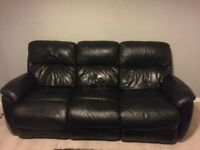 electric leather recliners