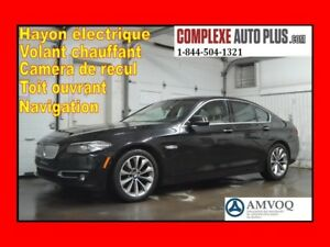 2014 BMW 5 Series 528i xDrive *Navi/GPS,Toit,Camera