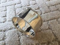 Single Silver Napkin Ring....Beautiful and all for just one lucky diner.