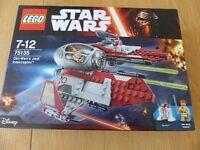 LEGO Star Wars 75135: Obi Wan's Jedi Interceptor - Brand New & Sealed