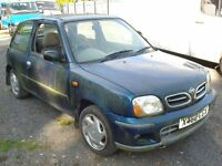 """NISSAN MICRA 2000 """"IDEAL FOR EXPORT"""""""