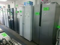 Hotpoint 70 cm wide fridge freezer white