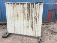 Solid Site Hoarding Panels - Item #31
