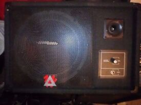 Peavey Eurosys 12M Wedge Stage Monitor passive speaker front of house