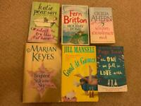 Bundle of paperbacks -Jill mansell, Marian keys Paige toon,