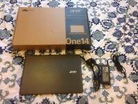 "Acer Aspire One Cloudbook 14"" (Intel N3050 Dual core, 2 GB RAM, 32 GB eMMC)"