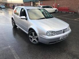 2001/51 VOLKSWAGEN GOLF 1.6 SE AUTOMATIC LEATHERS LOW MILES ONLY 90k