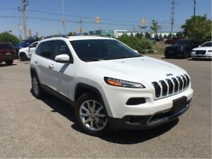 2017 Jeep Cherokee LIMITED 4X4**NAVIGATION**TRAILER TOW GROUP**