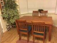 Dining Room Set with table & 4 chairs