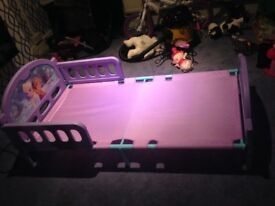 Character Toddler child bed frozen bed