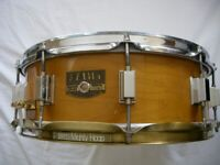 Tama Artwood solid maple snare drum 14 x 5 1/2 - Japan - '80s- Vintage and modded - BITSA