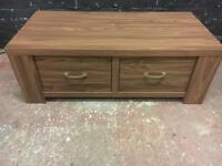 Beautiful as new two drawer coffee table/ TV stand