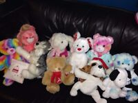 baby kids cuddly bears and toys job lot. hardly used but very clean - 8 bears