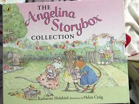 Set of 12 Angelina Ballerina hard backed books