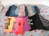 LARGE BAG OF BOYS NEXT SUMMER CLOTHES AGE 4-5 YEARS