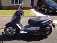 Sym Citycom 300i with full year MOT