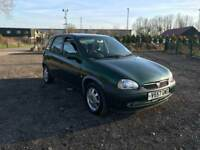 VAUXHALL CORSA 1.2 AUTOMATIC LONG MOT ONLY DONE 43000 MILES DRIVES LOVELY
