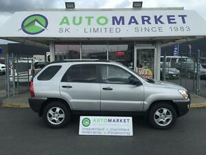 2008 Kia Sportage EX V6 LOW KM'S, WARRANTY