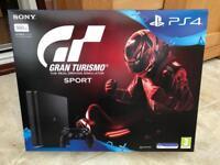 Sony Slim Sony Slimline PlayStation 4 Plus Gran Turismo Game