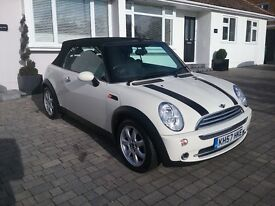 mini cooper convertible 1 owner 39000 miles immaculate fsh