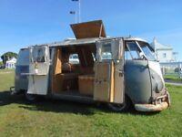 1962 VW SPLITSCREEN CAMPER VAN