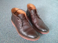 Vegan Leather Desert Boots (Will's)
